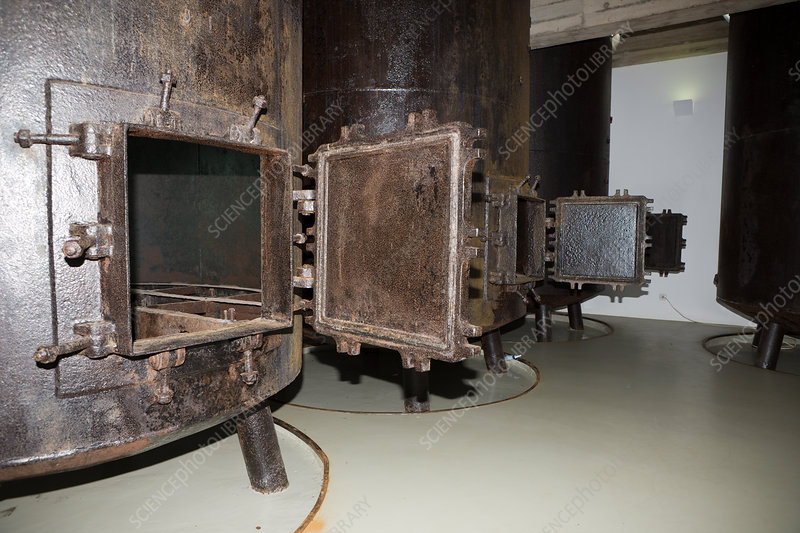 Boiler at Whaling Museum in Lajes do Pico