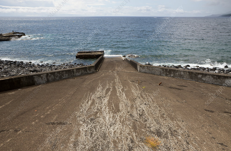 Ramp at Whaling Station in Lajes do Pico