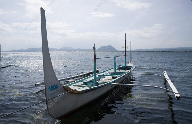 Outrigger on Lake Taal