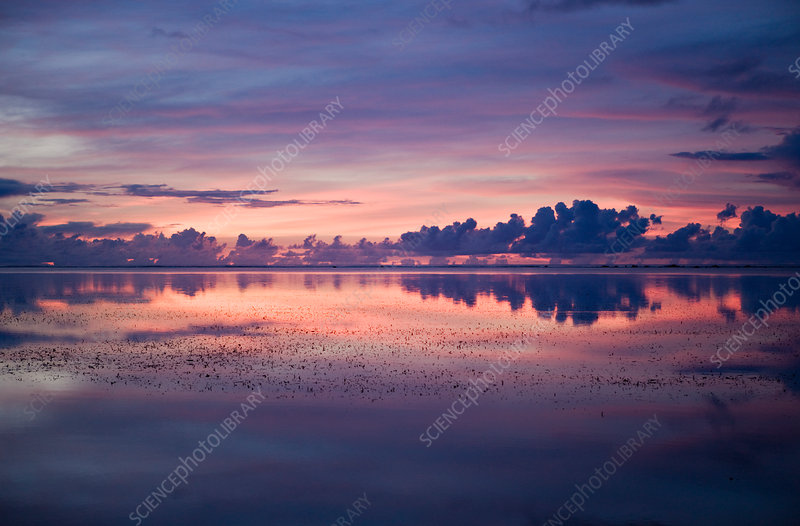 Sunset at Palau