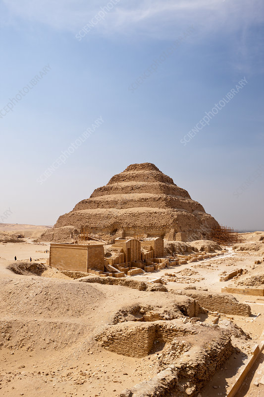 Saqqara Step Pyramid of Pharaoh Djoser