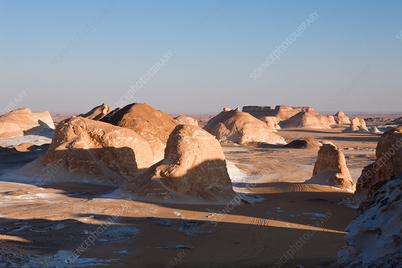 Twighlight in White Desert National Park