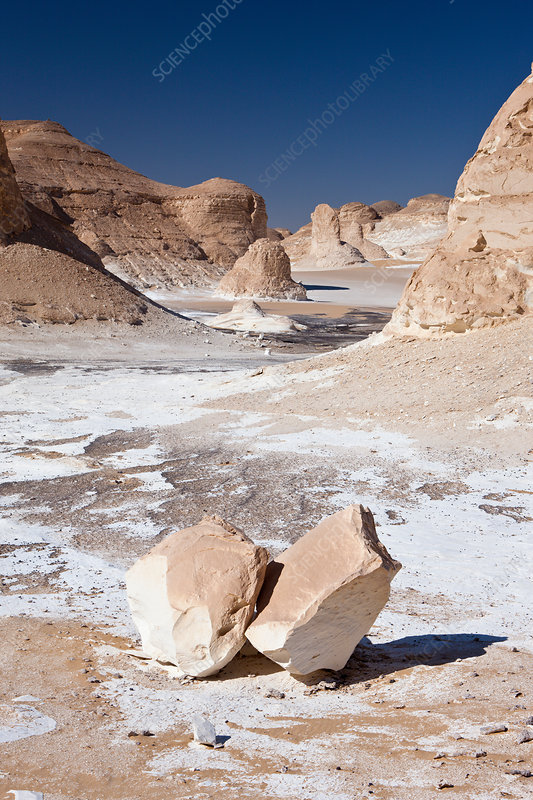 Landscape in White Desert National Park