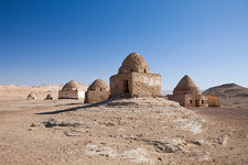 Tombs at El Qasr in Dakhla Oasis
