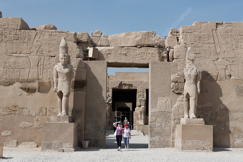 Impressions of Karnak Temple