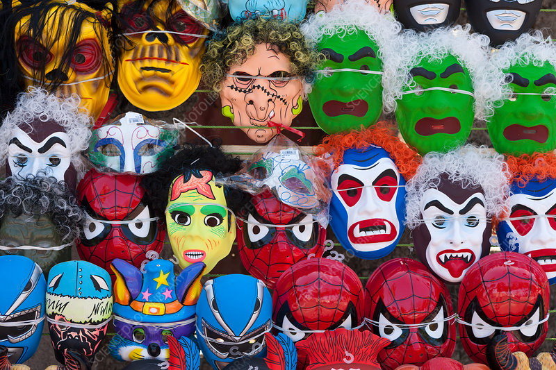 Masks at Puerto Plata Carneval