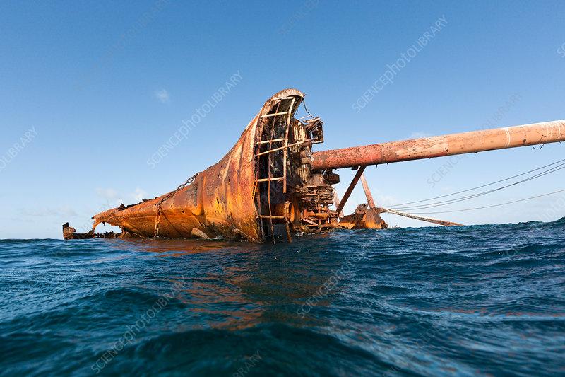 Ols Shipwreck at Silverbanks