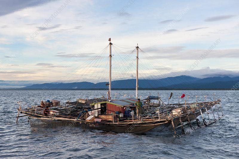 Fishing Platform called Bagan