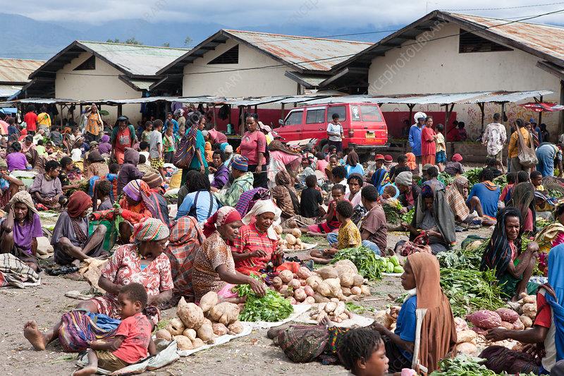Market of Wamena
