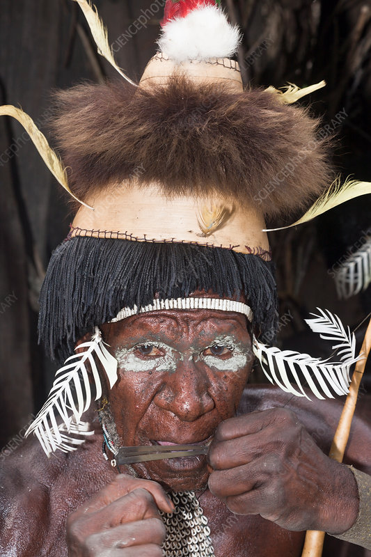 Warrior of Dani Tribe
