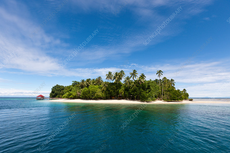 Ahe Island at Cenderawasih Bay