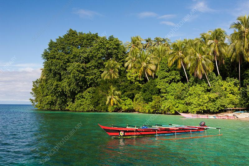 Lagoon of Ahe Island