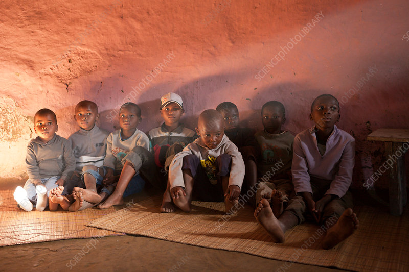 Children in Xhosa Village