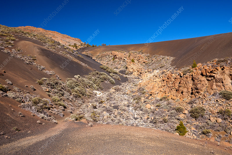 Black Moonlandscape at Teide National Park