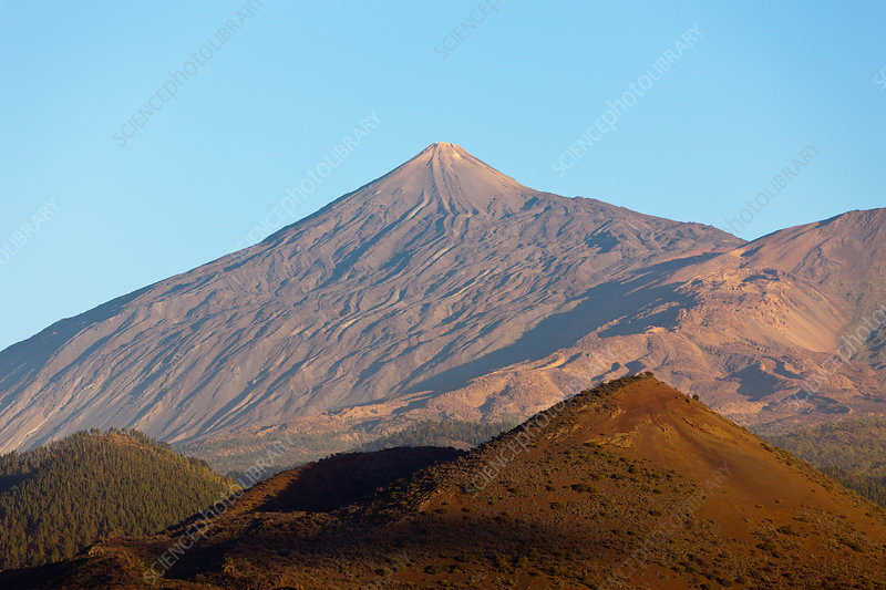 Mount Teide seen from the Northwest