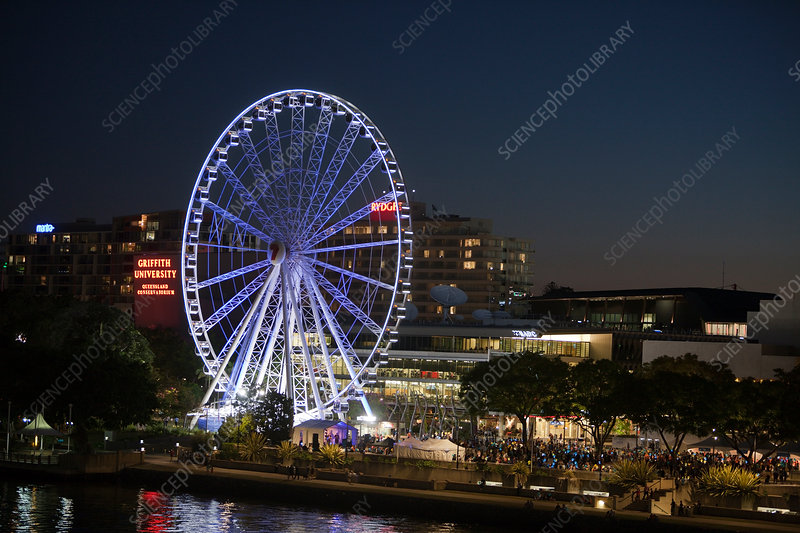 Illuminated Ferris Wheel