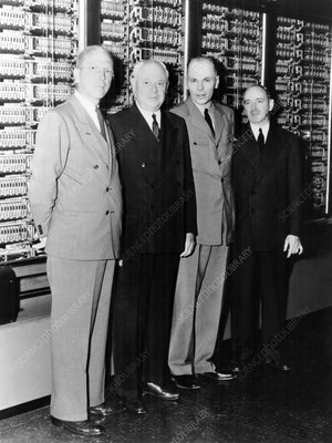 IBM Harvard Mark I computer inventors, 1940s