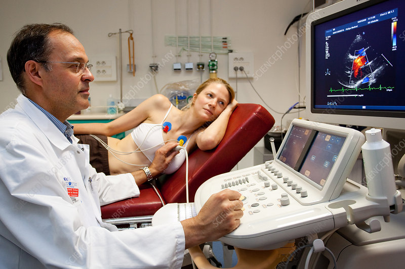 Heart scan doppler