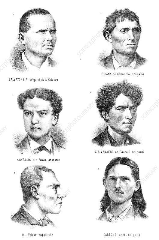 Theory of criminal types, 19th century
