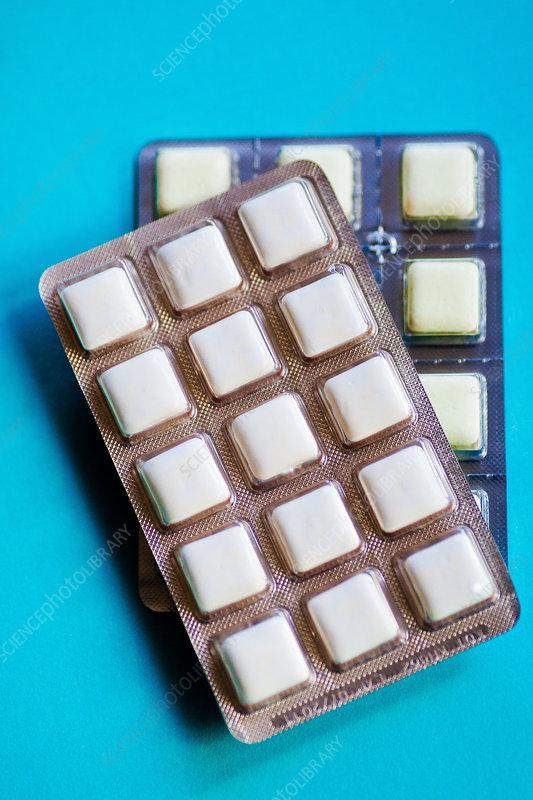 Nicotine gums
