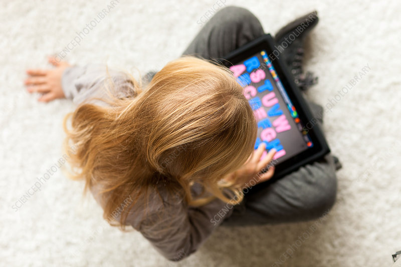 Learning to read with an iPad