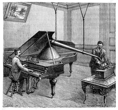Phonograph piano recordings, 19th century