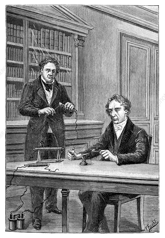Ampere and Arago on electromagnetism, 1820