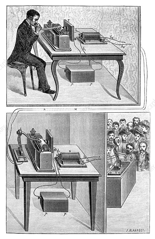 Edison's telephonography, 19th century
