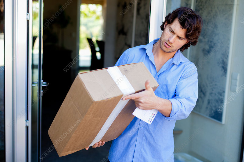 Man receiving package