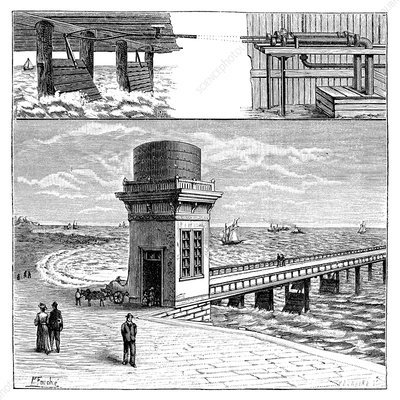 19th-century wave power