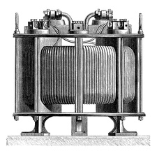 Zipernowsky transformer, 19th century
