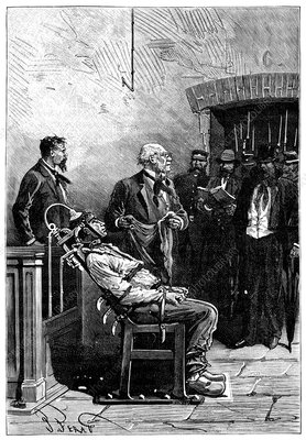 First electric chair execution, 1890