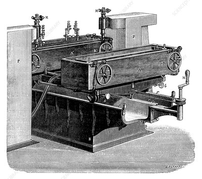 Thermal expansion measurement, 19th century