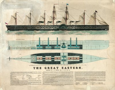 SS Great Eastern, illustration