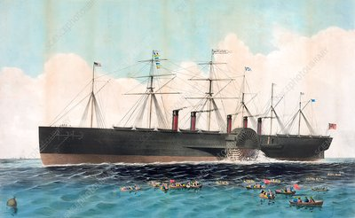 SS Great Eastern, poster