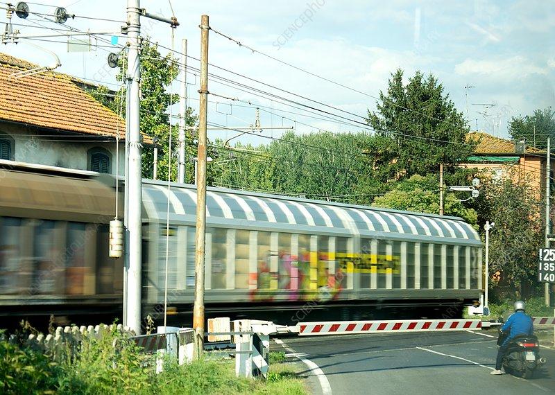 Italian Level Crossing
