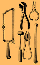 Surgical Instruments, 1772