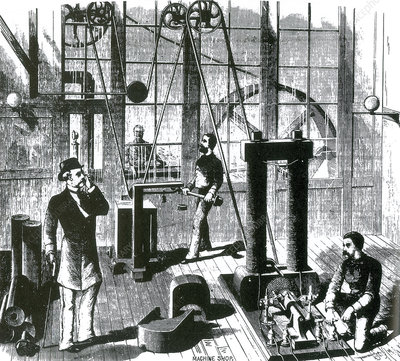 Edison's Electric Generator, 1880