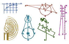 Early Physics Diagrams