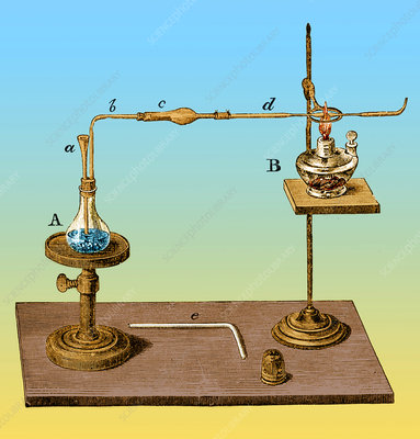 Marsh Test Apparatus, 1867