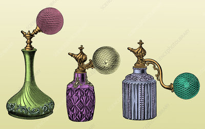 Perfume Atomizers, Early 20th Century