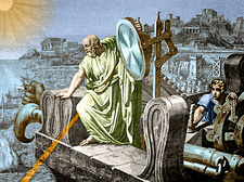 Archimedes Heat Ray, Siege of Syracuse, 212 BC