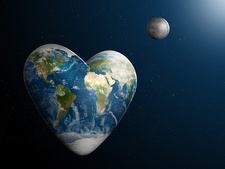 Valentine's Day, Heart-Shaped Earth