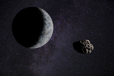 Dwarf Planet Eris, Illustration