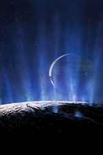 Enceladus and Saturn, Illustration