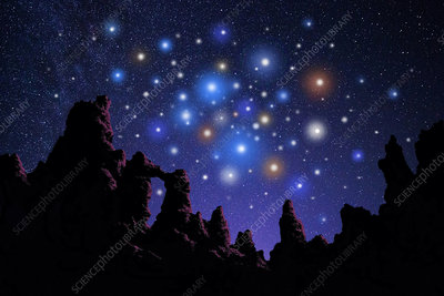 Open Star Cluster