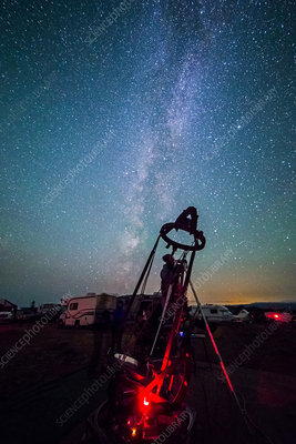 Amateur Reflecting Telescope, Milky Way