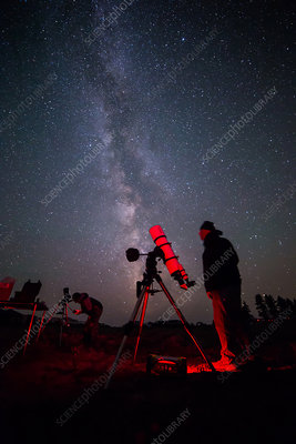 Amateur Astronomers, Milky Way