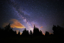 Light Pollution and the Milky Way
