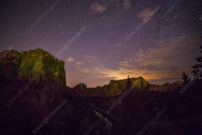 Light Pollution, Smith Rocks, Oregon